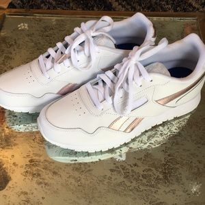 Women's Brand New White Reebok Shoes